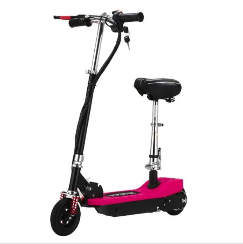 Giá bán Xe scooter điện thể thao 120W, tốc độ tối đa 15km/h, tải trọng 75kg (Đỏ)
