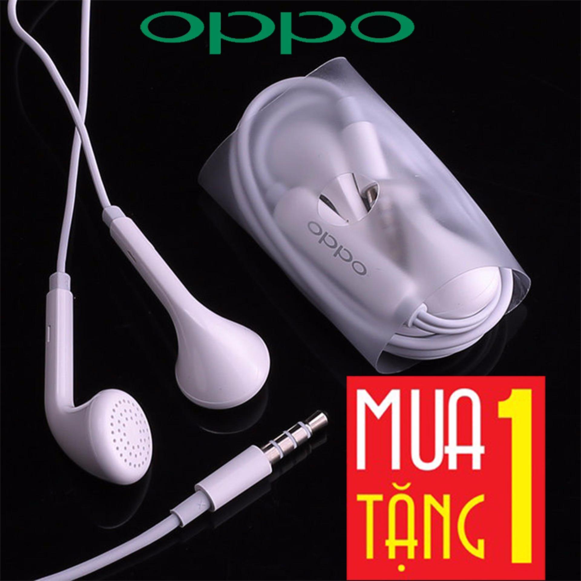Tai nghe Oppo F3/F3 Plus + Tặng 01 Tai nghe Tai nghe Oppo F3 - Âm Hay, Bass Mạnh