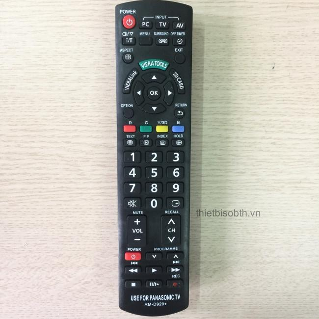 Bảng giá Điều khiển smart tivi Panasonic RM-D920+