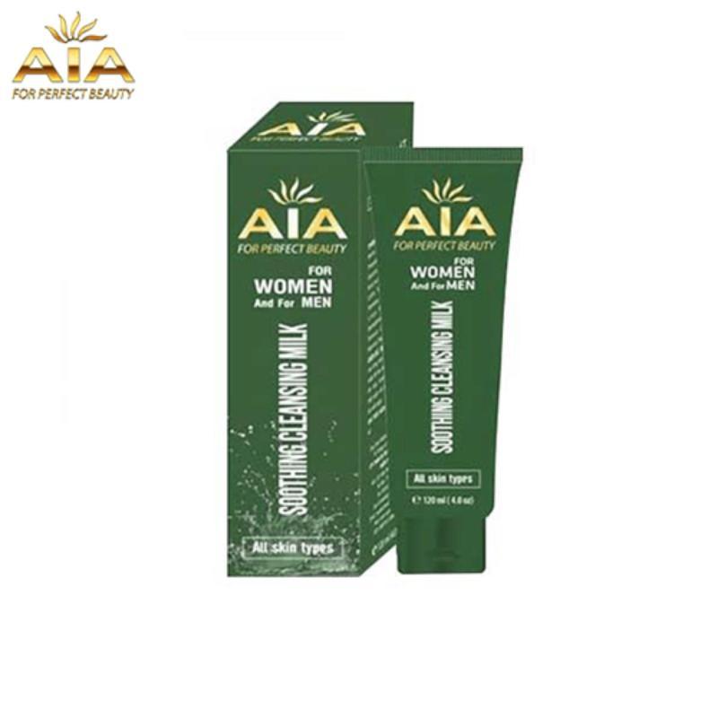 Mỹ Phẩm AIA – Sữa Rửa Mặt Trị Mụn Thâm, AIA Soothing Cleansing Milk (120ml)