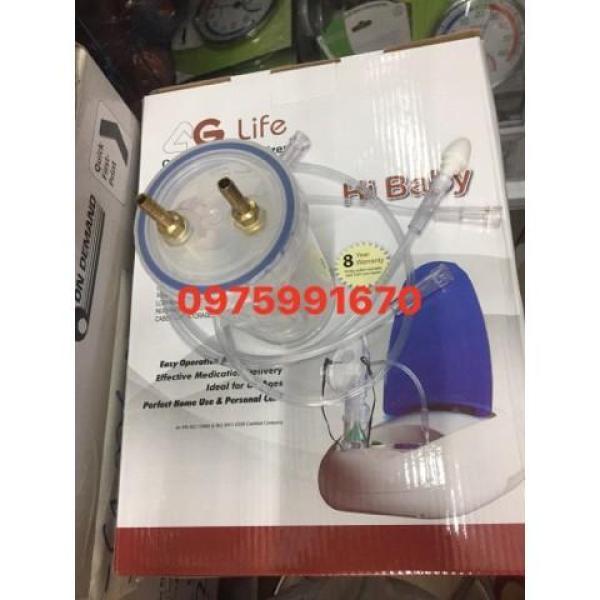 Bình đựng dịch và dây của máy xông, hút mũi AG life hibaby nhập khẩu