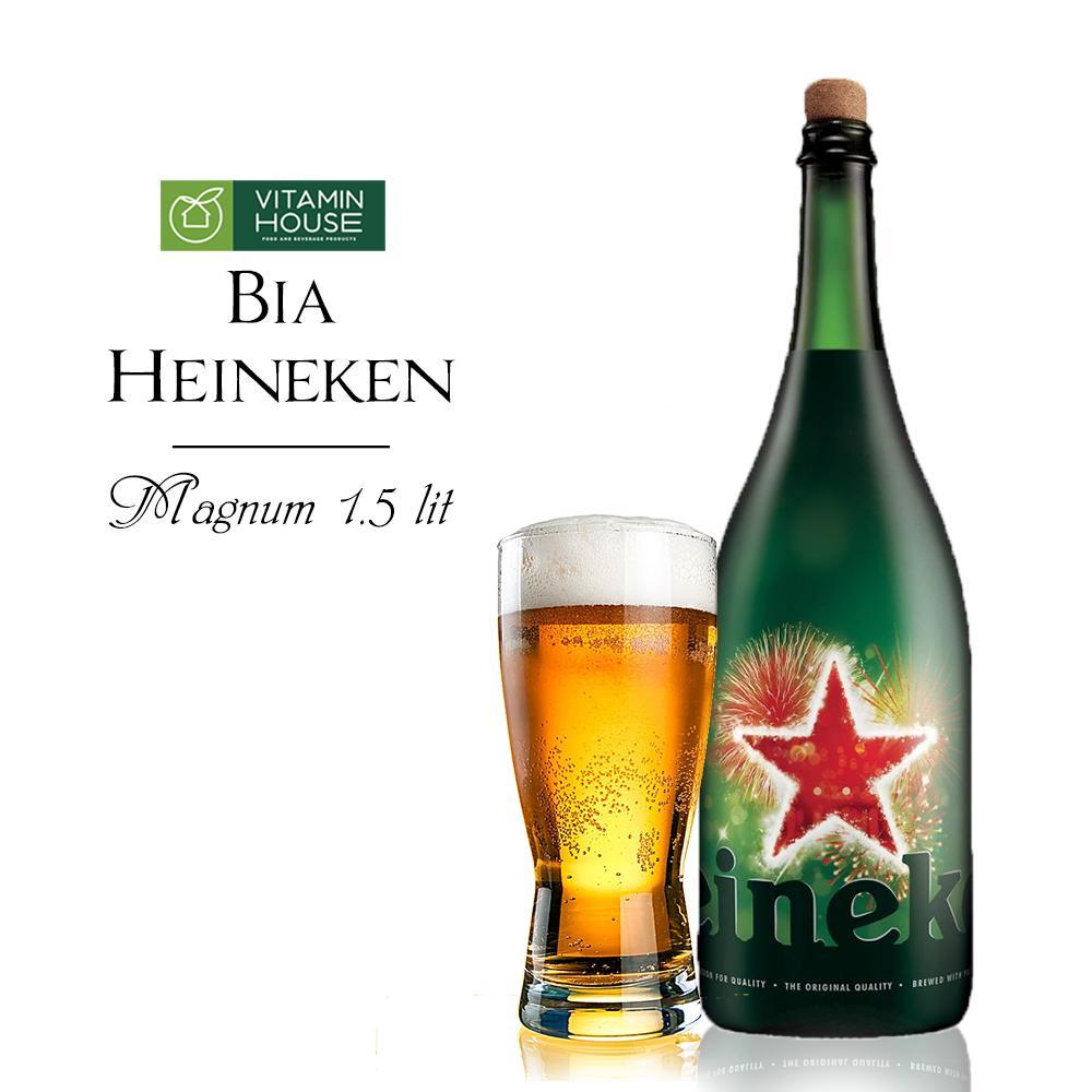Bia Heineken chai 1,5l