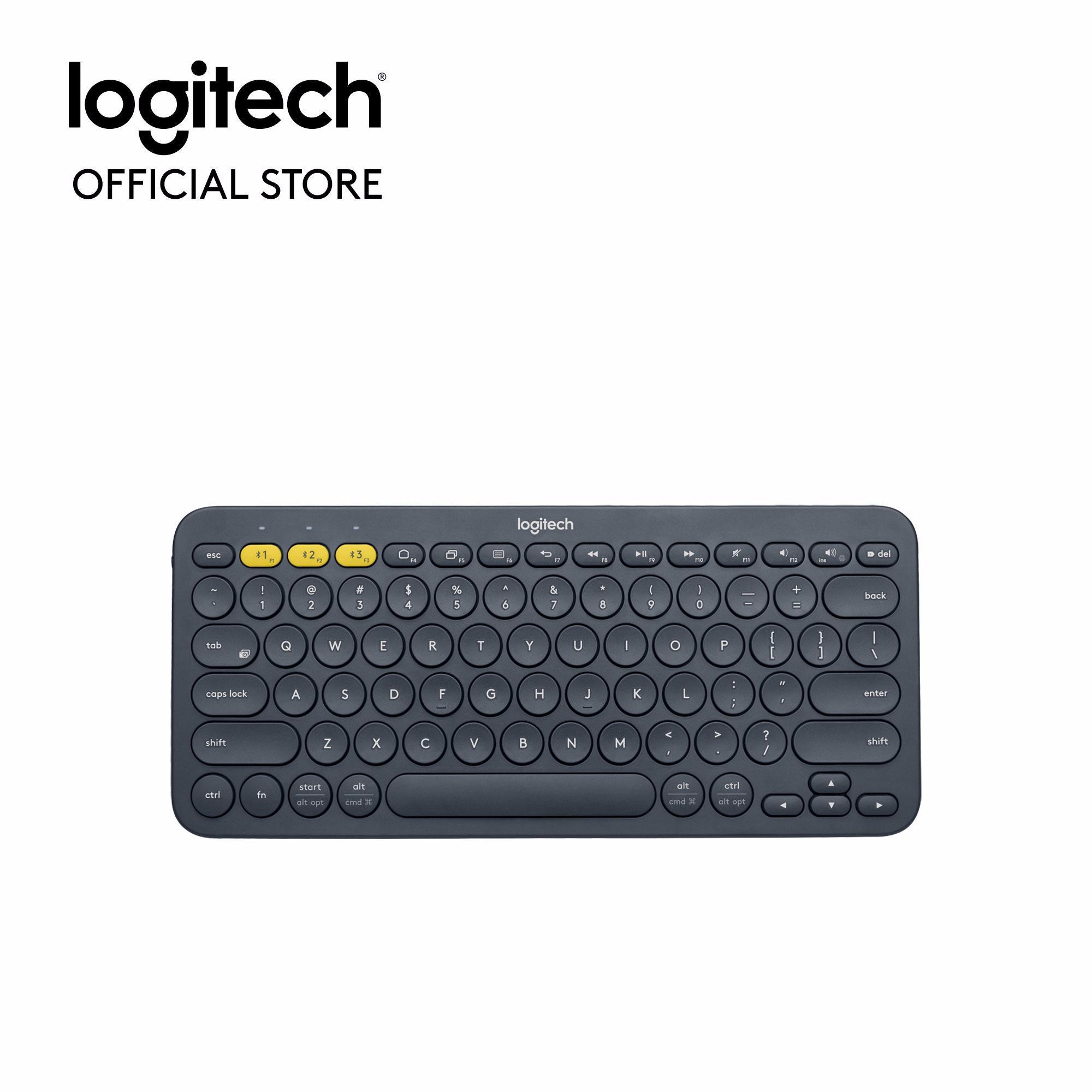 Hình ảnh Bàn phím Bluetooth đa thiết bị Logitech K380 - Hãng phân phối chính thức