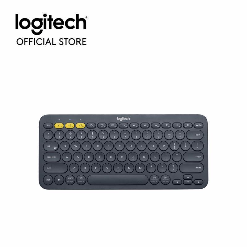 Bàn phím Bluetooth Logitech K380 Multi-Device - Kết nối Bluetooth, Tương thích nhiều nền tảng, Trọng lượng nhẹ, Phạm vi kết nối không dây 10m
