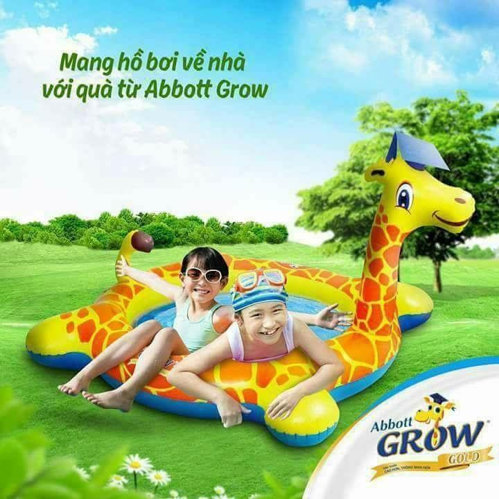 Bể Bơi Hươu Cao Cổ - Sản Phẩm Khuyến Mại Từ Abbott Đang Ưu Đãi Giá