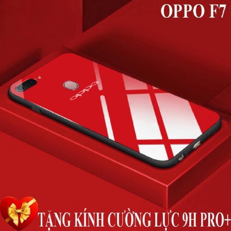 Giá Ốp lưng gương kính Oppo F7 cao cấp + Tặng kính cường lực màn hình 9H Pro+