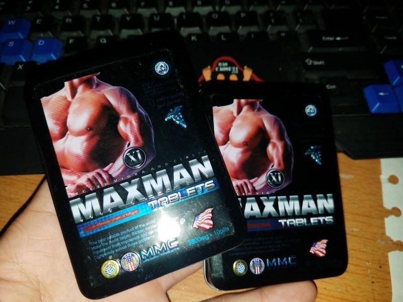 BCS21 Cường Dương Maxman 10 Viên ( hàng chuẩn Logo dập nổi )