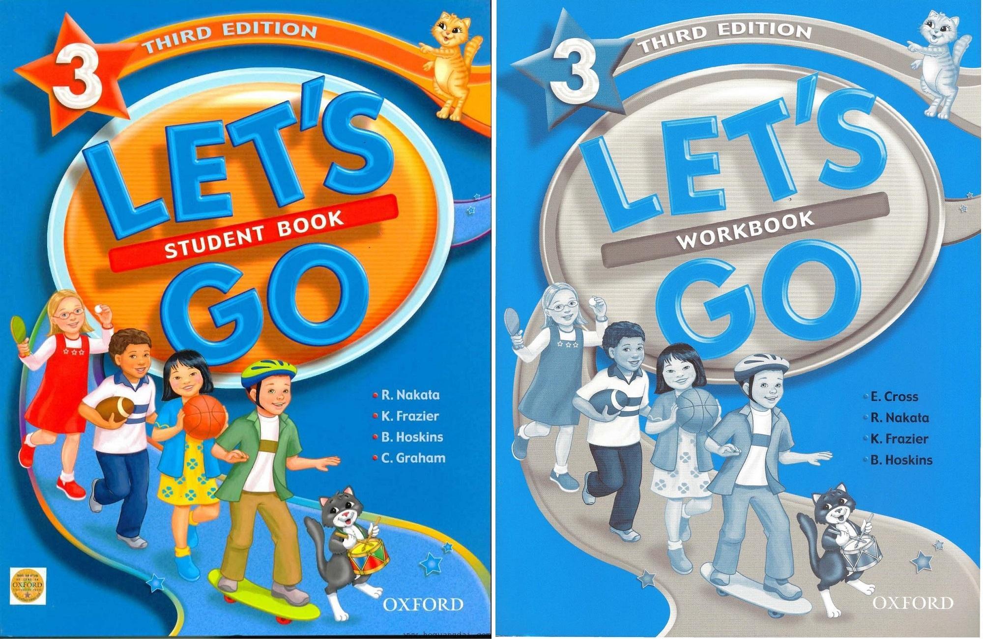 Mua Bộ sách tiếng Anh cho trẻ Let's Go 3 phiên bản third edition (Trọn bộ 2 cuốn)