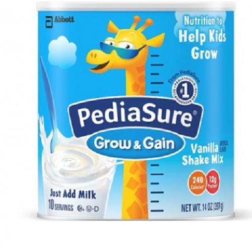 Ôn Tập Sữa Pediasure Sake Mix Hương Vanilla Danh Cho Trẻ Biếng Ăn 396G Của Mỹ