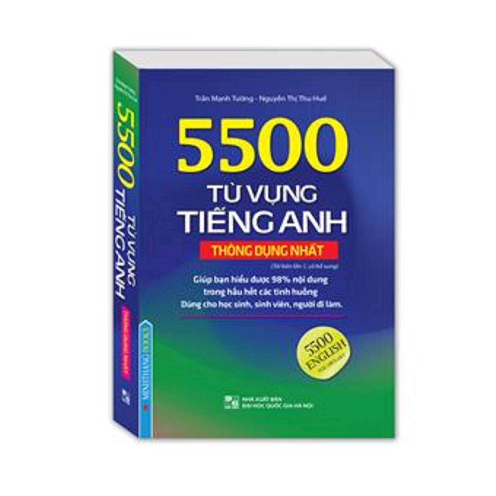Mua 5500 từ vựng tiếng Anh thông dụng nhất (bản màu)
