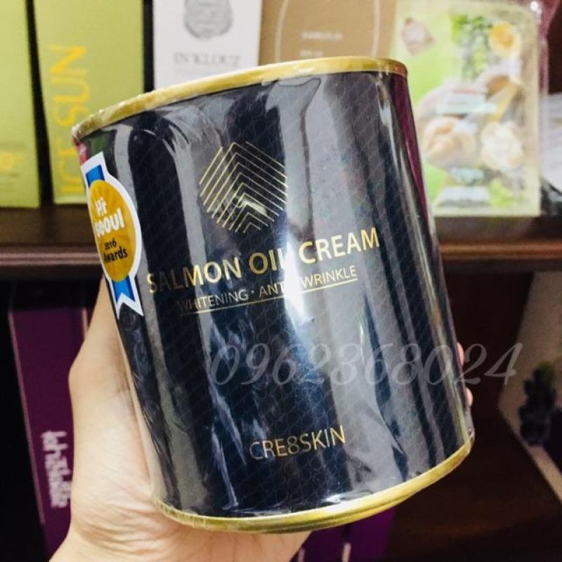 Kem dưỡng da cá hồi Salmon Oil Cream của Cre8skin Hàn Quốc-1 hộp cao cấp