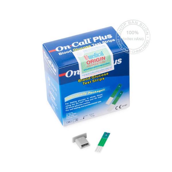 Que thử đường huyết Acon On call Plus 25 que