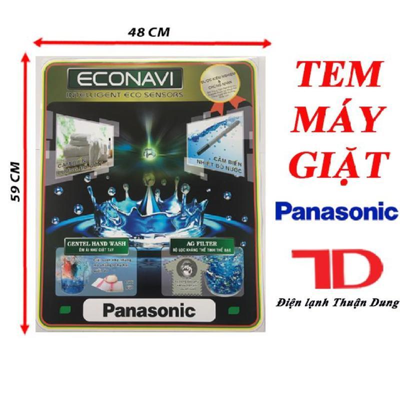 Bảng giá TEM DÁN MÁY GIẶT PANASONIC + TẶNG KÈM BĂNG KEO 2 MẶT Điện máy Pico