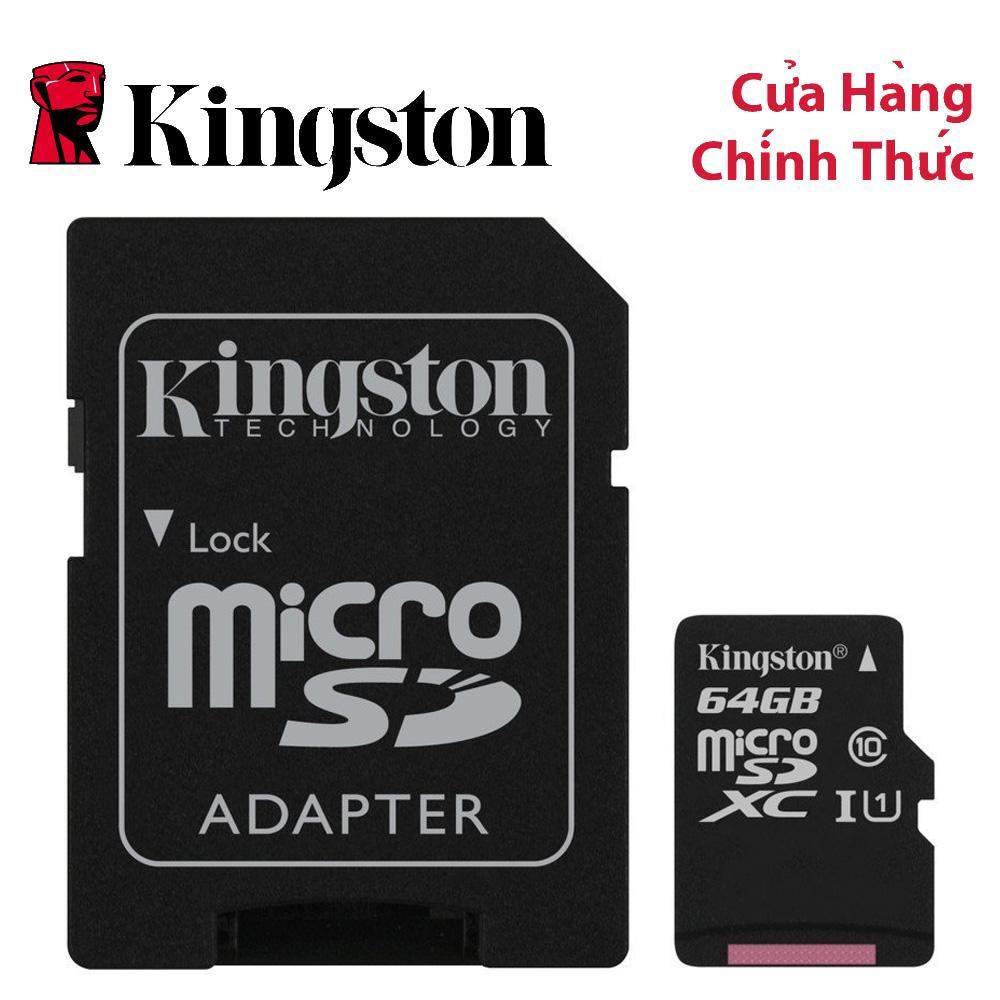 Thẻ Nhớ MicroSDXC Kingston Canvas Select 64GB Class 10 U1 (SDCS/64GB) Có Giá Rất Tốt