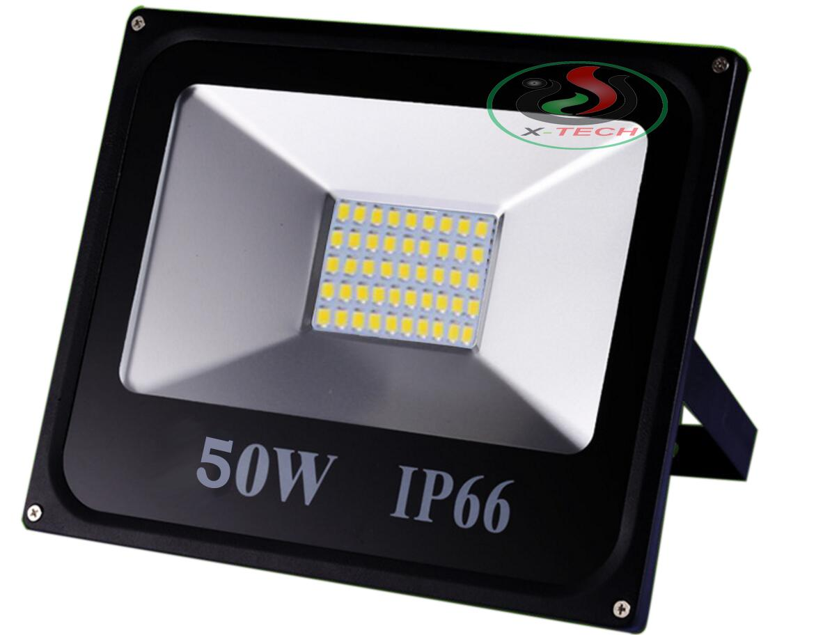 Đèn Led Pha 50W IP66 Ngoài Trời CMJ-50 Chống Mưa Tuổi Thọ Cao 220V (Ánh sáng trắng)