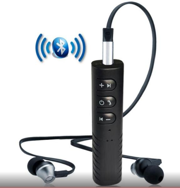 Thiết bị chuyển đổi tai nghe thường thành Bluetooth R999 (tặng jack kết nối cho Loa hoặc xe hơi)