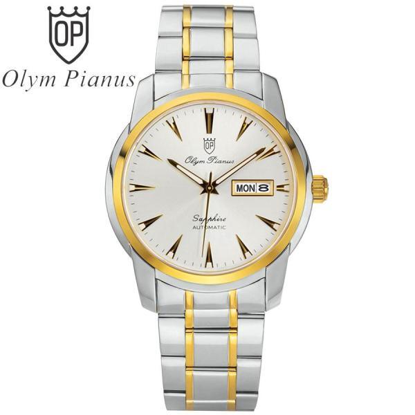 Đồng hồ nam mặt kính sapphire Olym Pianus OP990-05AMSK trắng bán chạy