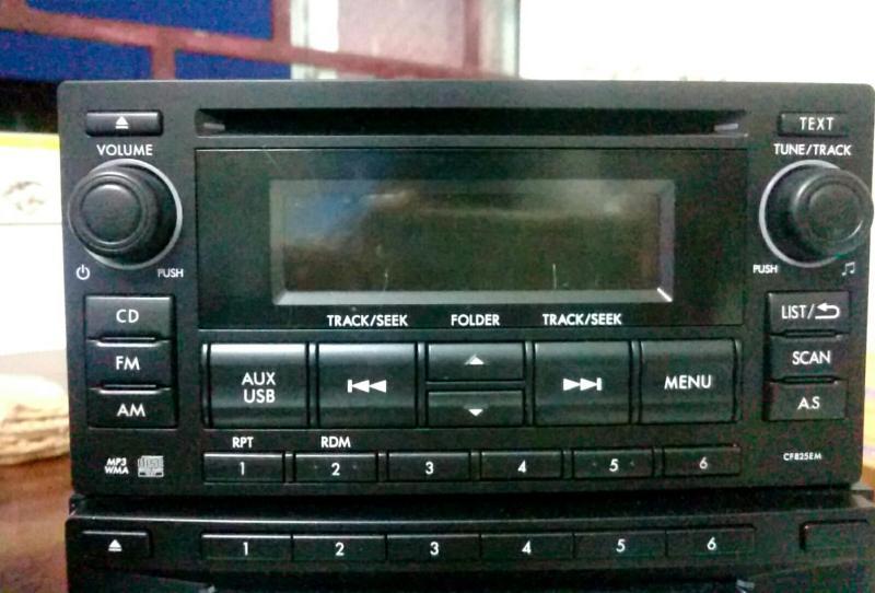 CD ô tô subaru PF3545