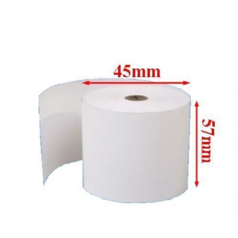 50 cuộn giấy in hóa đơn k57x45 - giấy in nhiệt k57x45 - giấy in bill k57x45