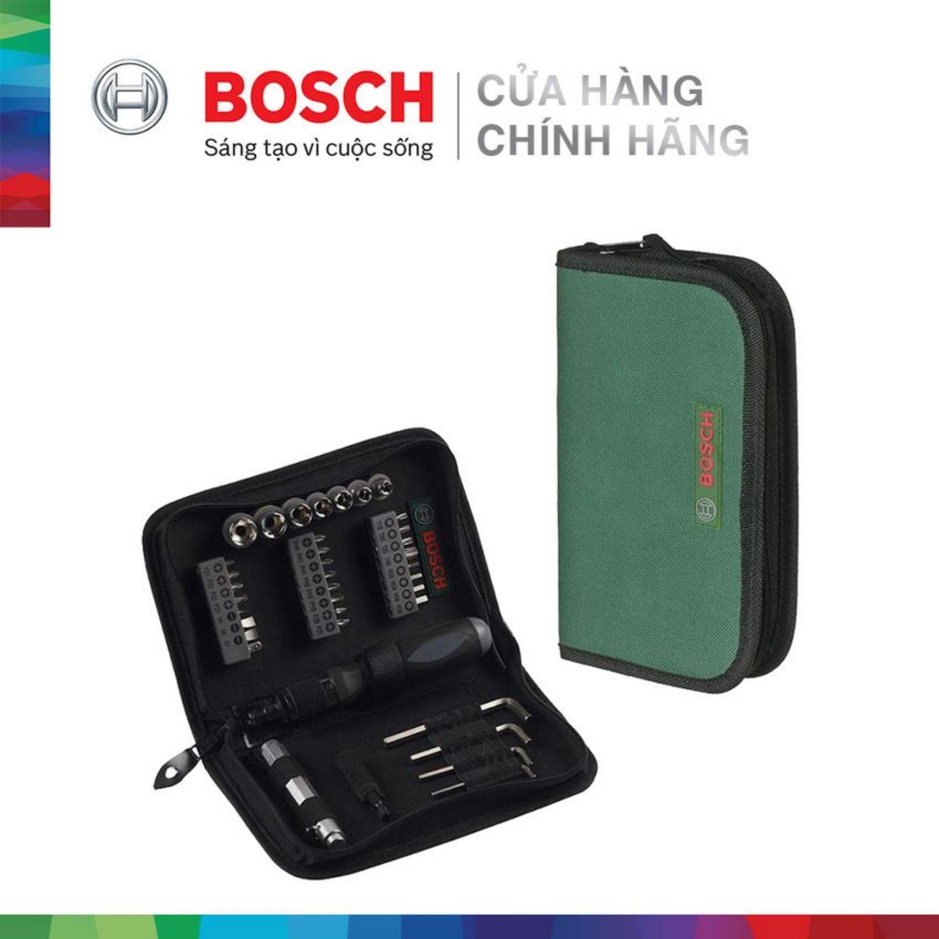 Bộ vặn vít đa năng Bosch 38 món 2607019506
