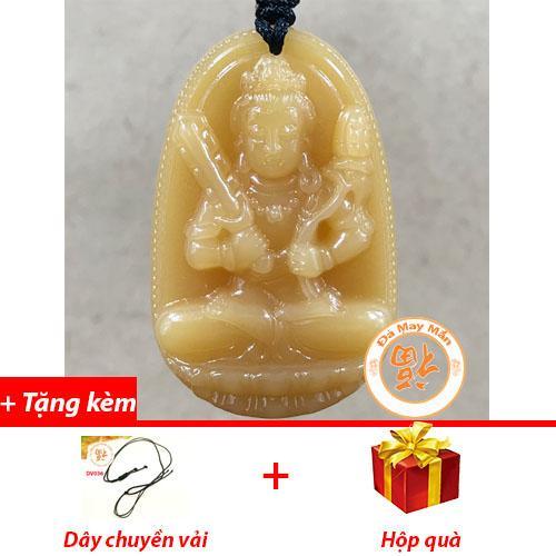Mặt Dây Chuyền Phật Bản Mệnh Hư Không Tạng Bồ Tát Ngọc Hoàng Long Nhí