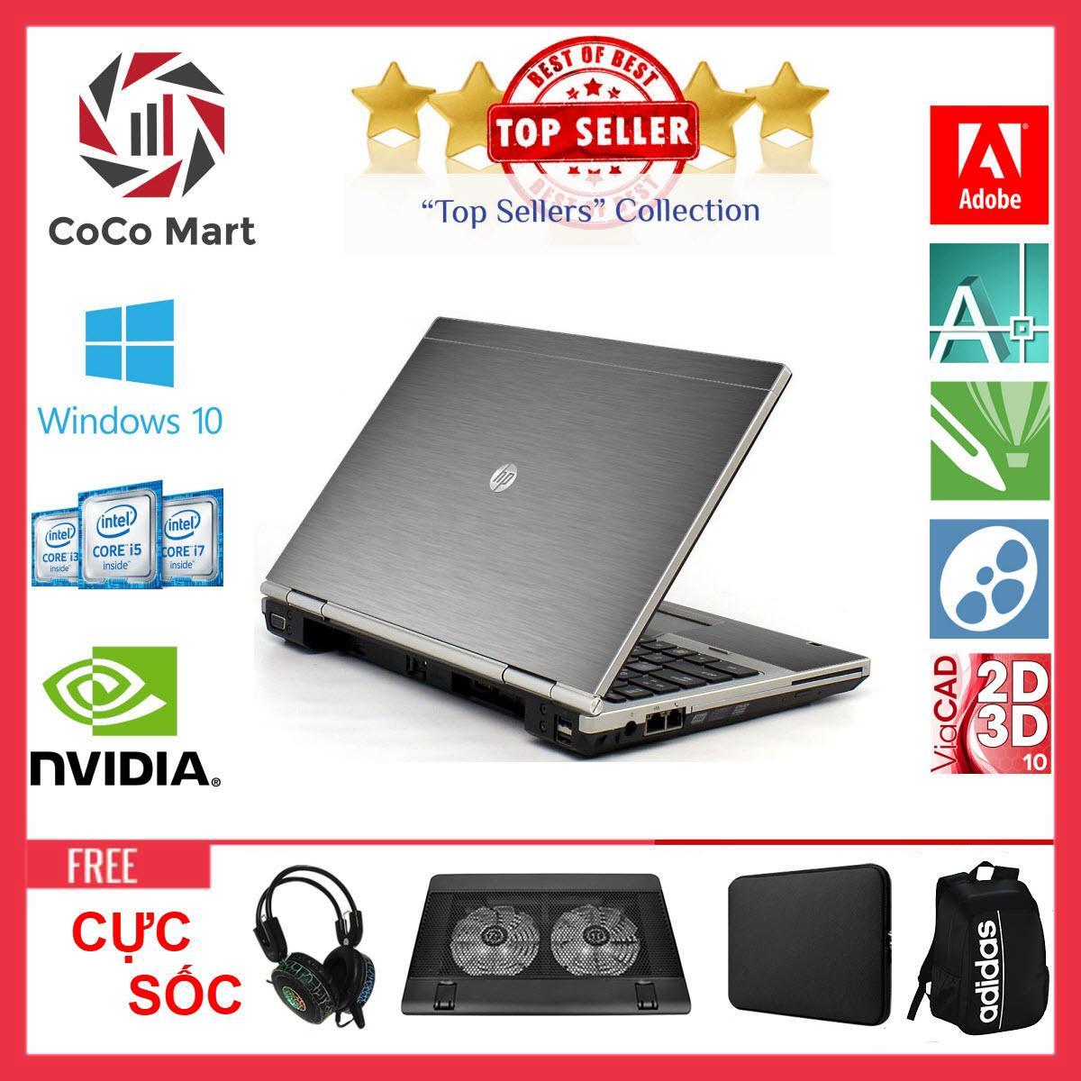 Laptop HP EliteBook 2560p Chạy CPU i7-2620M, 12.5inch, 8GB, SSD 240GB + Bộ Quà Tặng - Hàng Nhập Khẩu