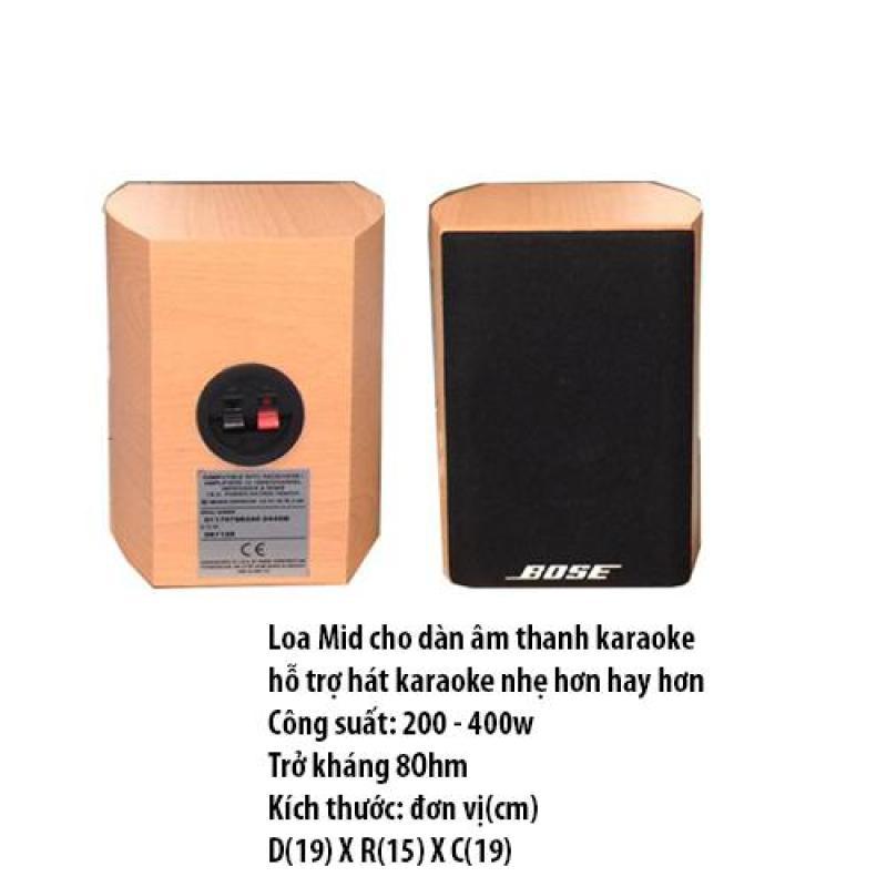 loa trung hay còn gọi là loa mic hỗ trợ hát karaoke cho dàn âm thanh