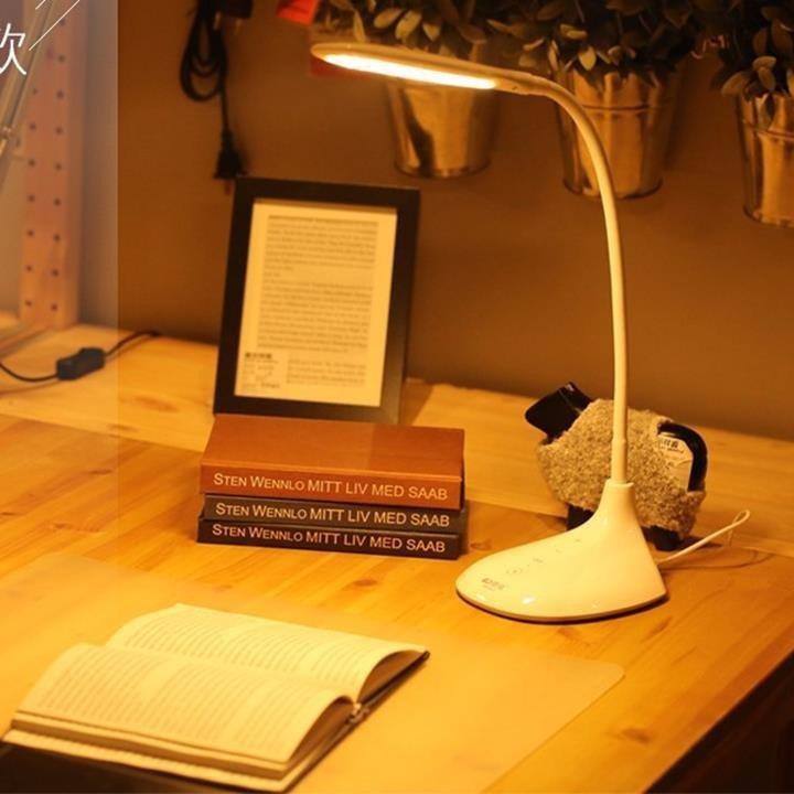 Đèn LED để bàn làm việc, học tập chống cận, chống lóa 3 màu Kamisafe KM-S052