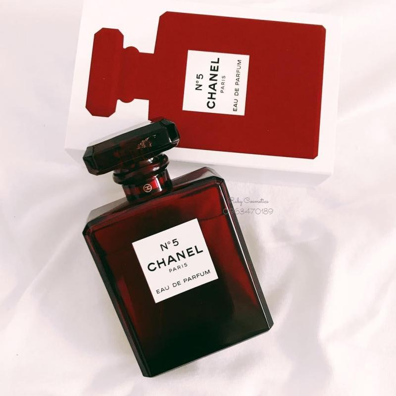 Nước Hoa Chanel No.5 Eau De Parfume Red Limited Edition 2018 (Fullbox 100ml)
