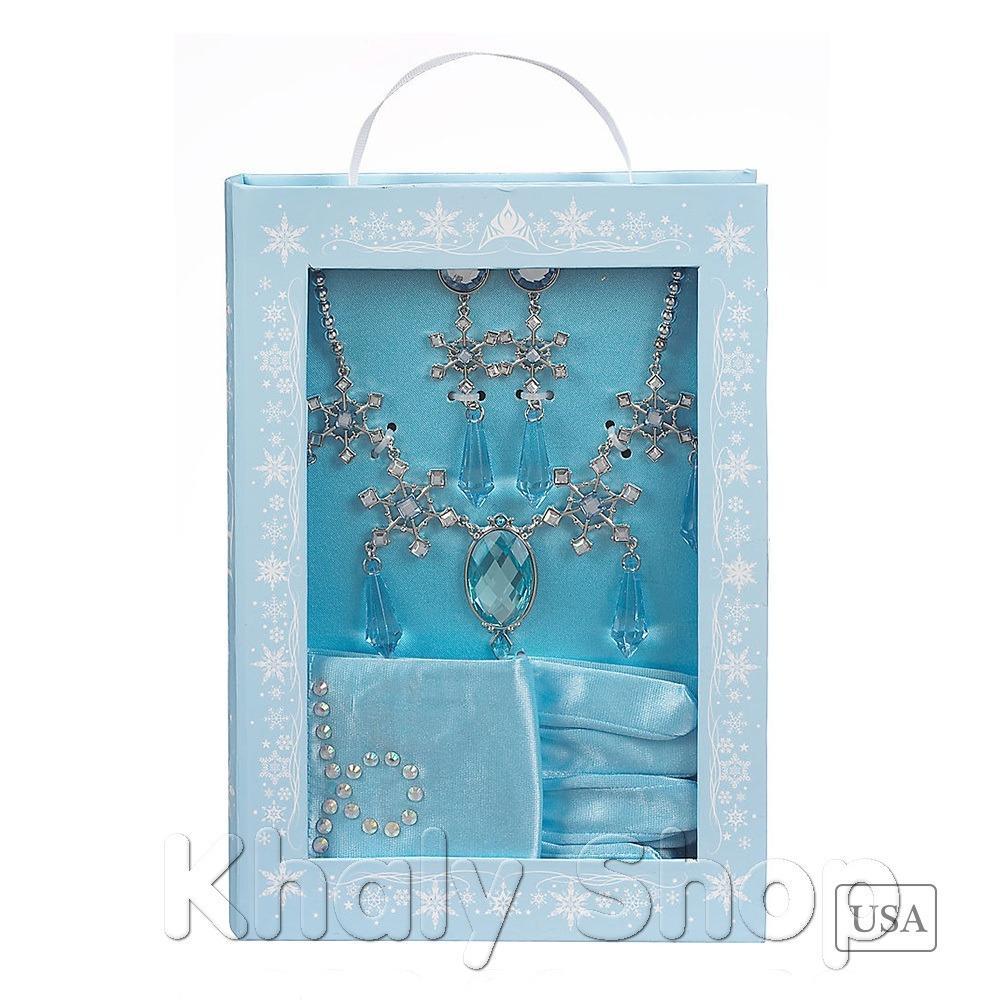 Bộ phụ kiện hóa trang Elsa Frozen Disney USA - BDCFZMY