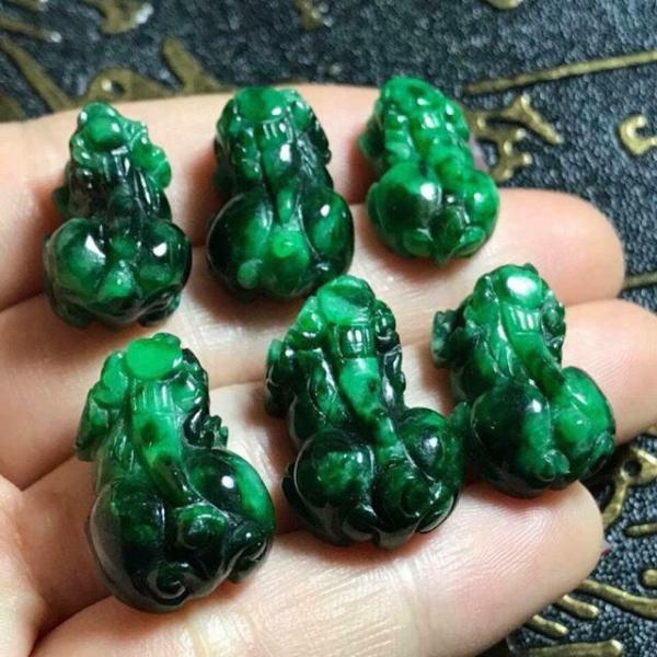 Tỳ Hưu Ngọc Cẩm Thạch (Jade)
