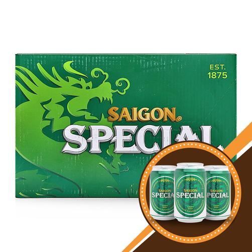 Bia Sài Gòn – Thùng 24 lon x 330ml
