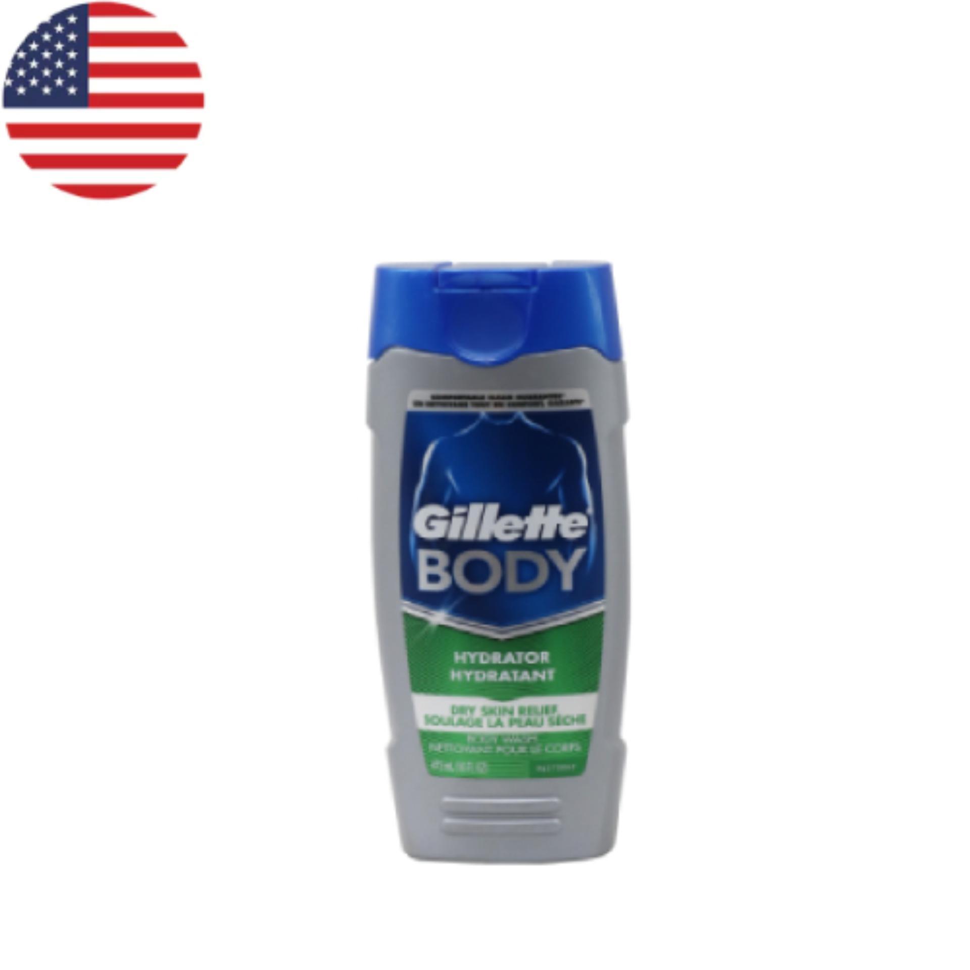 Hình ảnh Sữa tắm Gillete Day Skin Hydrating 473 ml