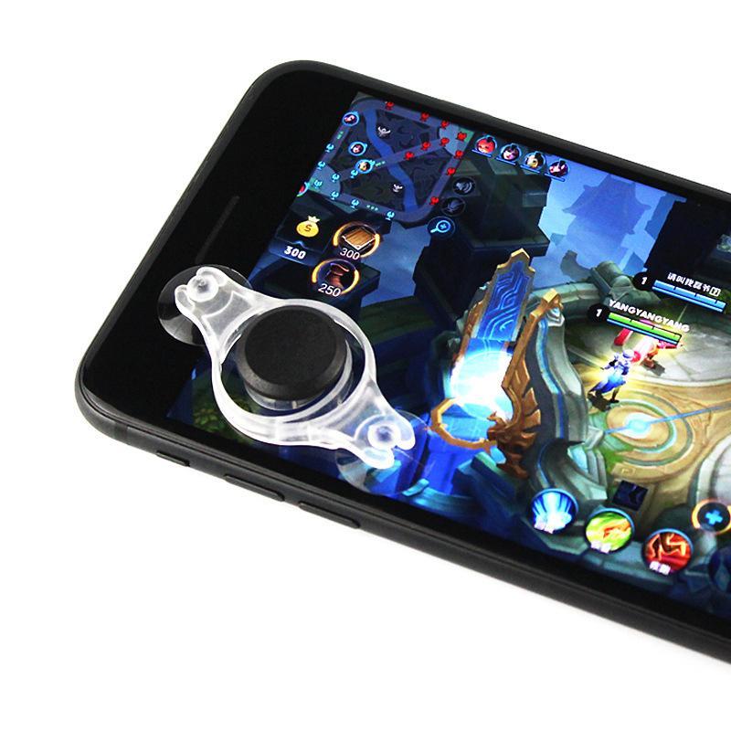 [Phặn Phặn] Moblie Joystick Siêu Dính 2019 (Trắng) – Cải Tiến Từ Joystick Fling Mini - Nút Bấm Chơi Game Dành Cho Game Thủ Mobile