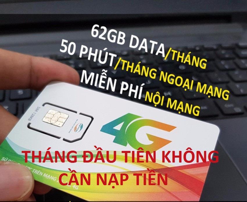 SIM 3G/4G VIETTEL V90 KM 60GB/THÁNG-MIỄN PHÍ GỌI NỘI MẠNG-THÁNG ĐẦU KHÔNG CẦN NẠP TIỀN