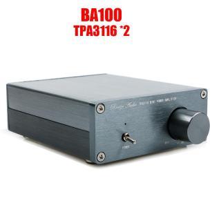 Breeze Audio Ba100 Hifi Class D Bộ Khuếch Đại Công Suất Âm Thanh Kỹ Thuật Số TPA3116D2 TPA3116 Vỏ Nhôm Gia Đình Mini 2 100W Tiên Tiến thumbnail