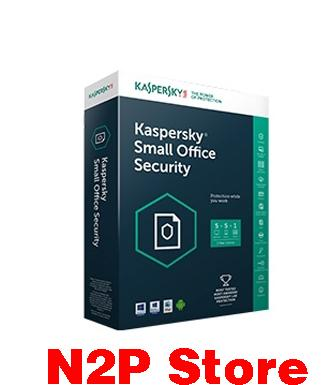 Phền mềm Kaspersky Small Office Security KSOS 5 PCs + 1 File Server