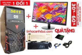 Bộ máy PC ADA1LE20 màn hình LED 20 inch Văn phòng TẶNG PHÍM CHUỘT MỚI thumbnail