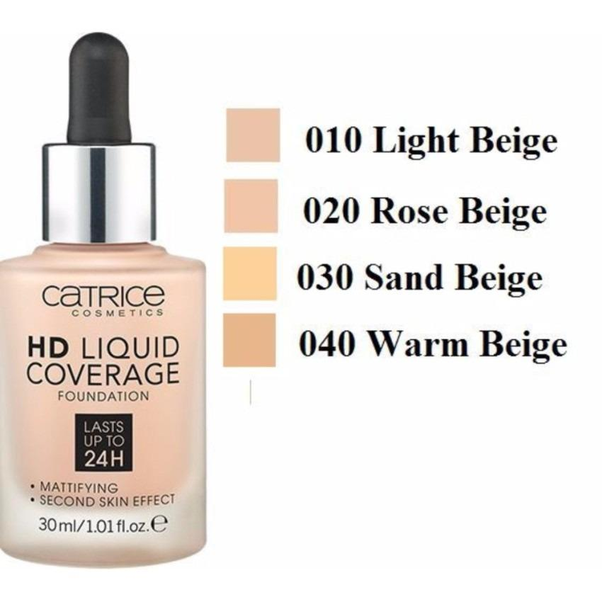 Giá Bán Kem Nền Che Phủ Hoan Hảo Catrice Hd Liquid Coverage 30Ml 020 Rose Beige