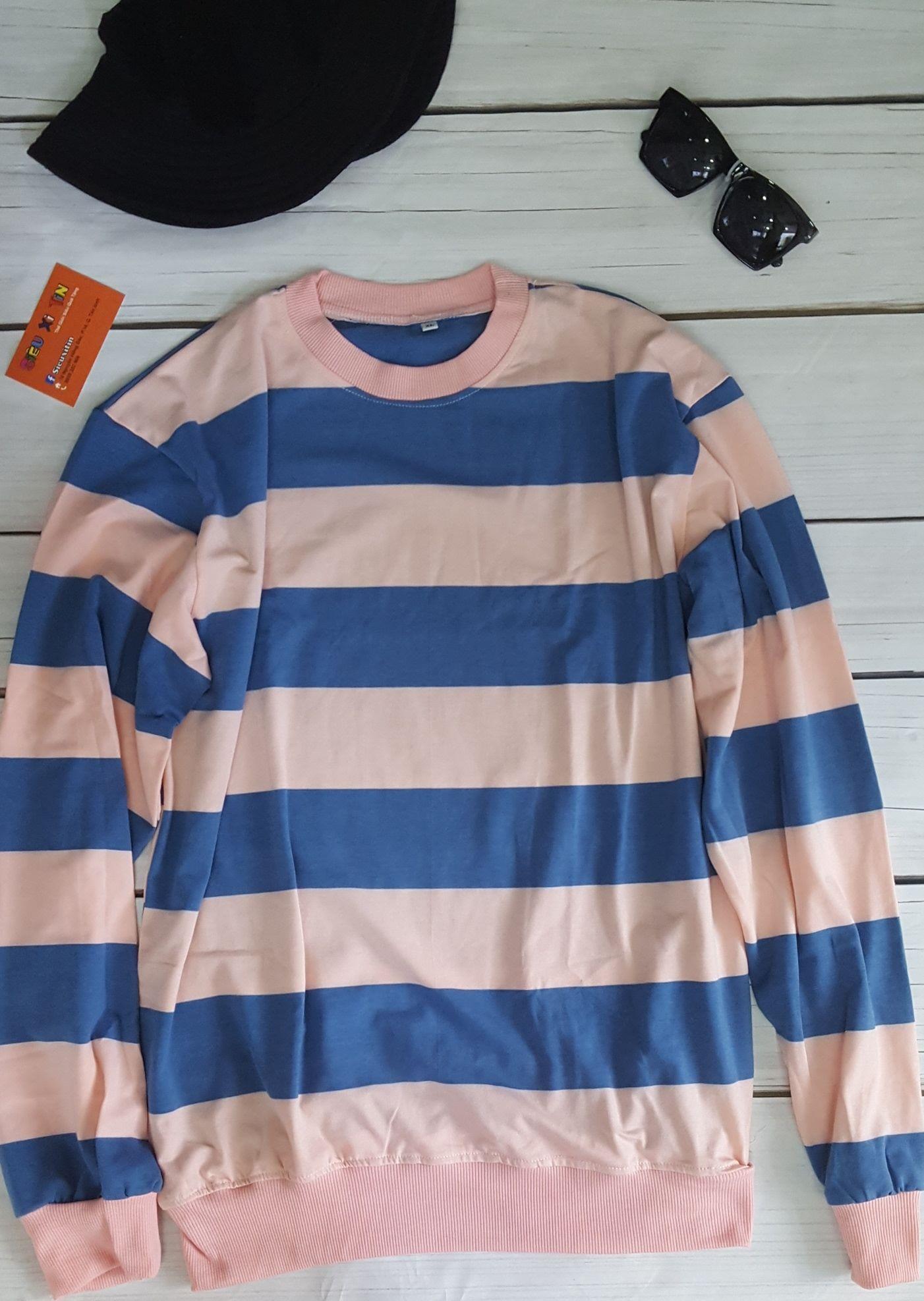 Áo sweater sọc