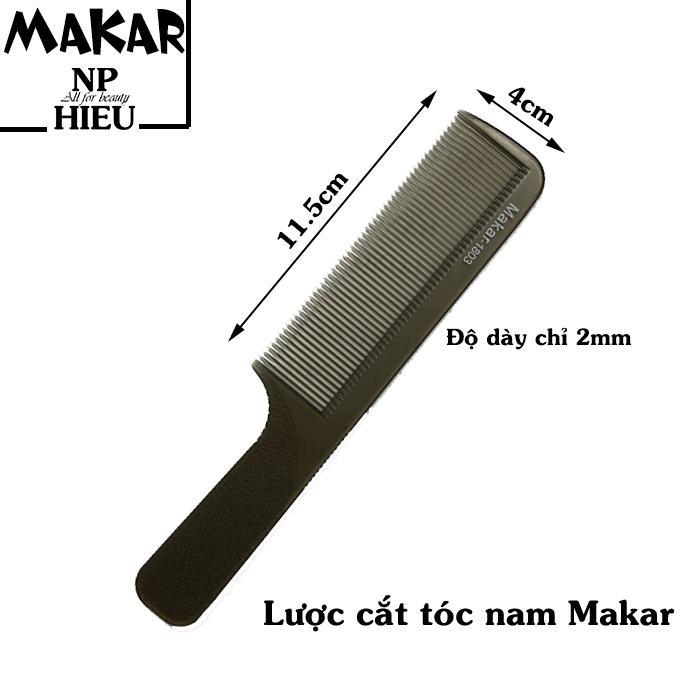 Lược cắt tóc nam Makar nhập khẩu