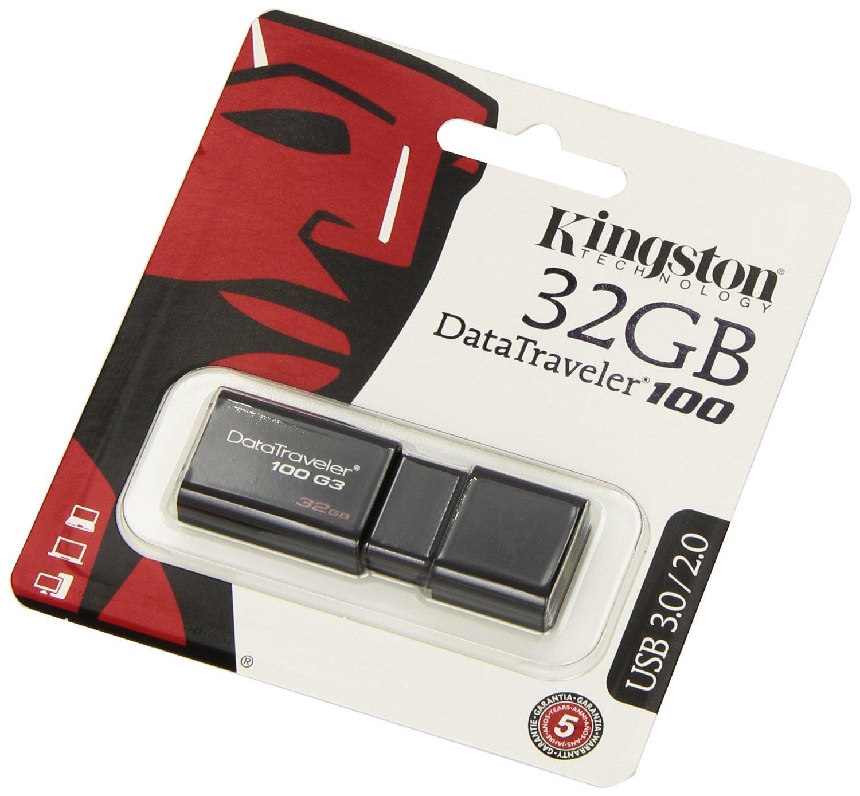 USB 3.0 32GB Kingston DT100G3 1000000882
