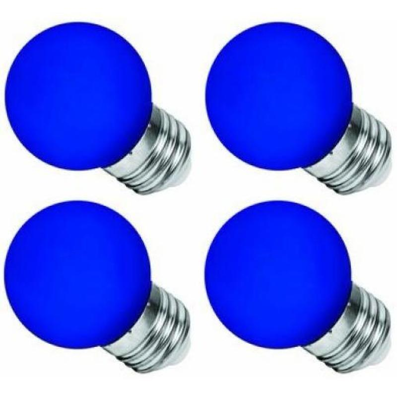 Bộ 4 Đèn LED Bulb Điện Quang LEDBU14G45 01B 1W E27