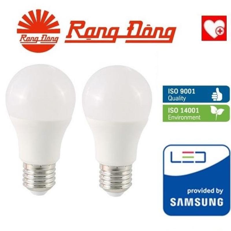 [Lấy mã giảm thêm 30%]2 bóng đèn LED bulb 5W Rạng Đông - SAMSUNG ChipLED Mới