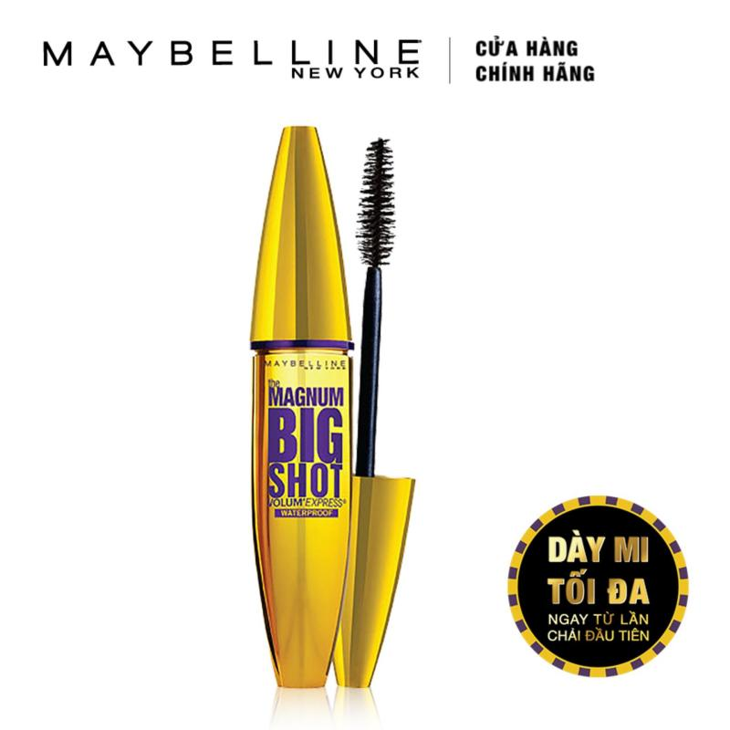 Mascara dày mi cực đại Maybelline New York Magnum Bigshot (Đen)