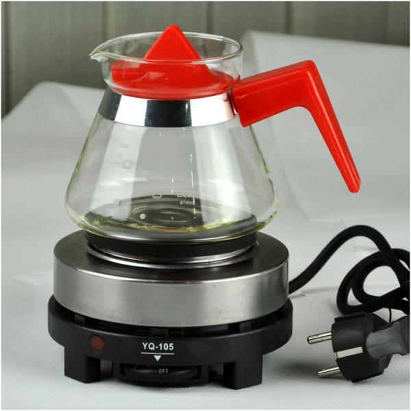 Bếp điện mini 500w đun nước uống cafe, trà, hâm sữa, massage đá...