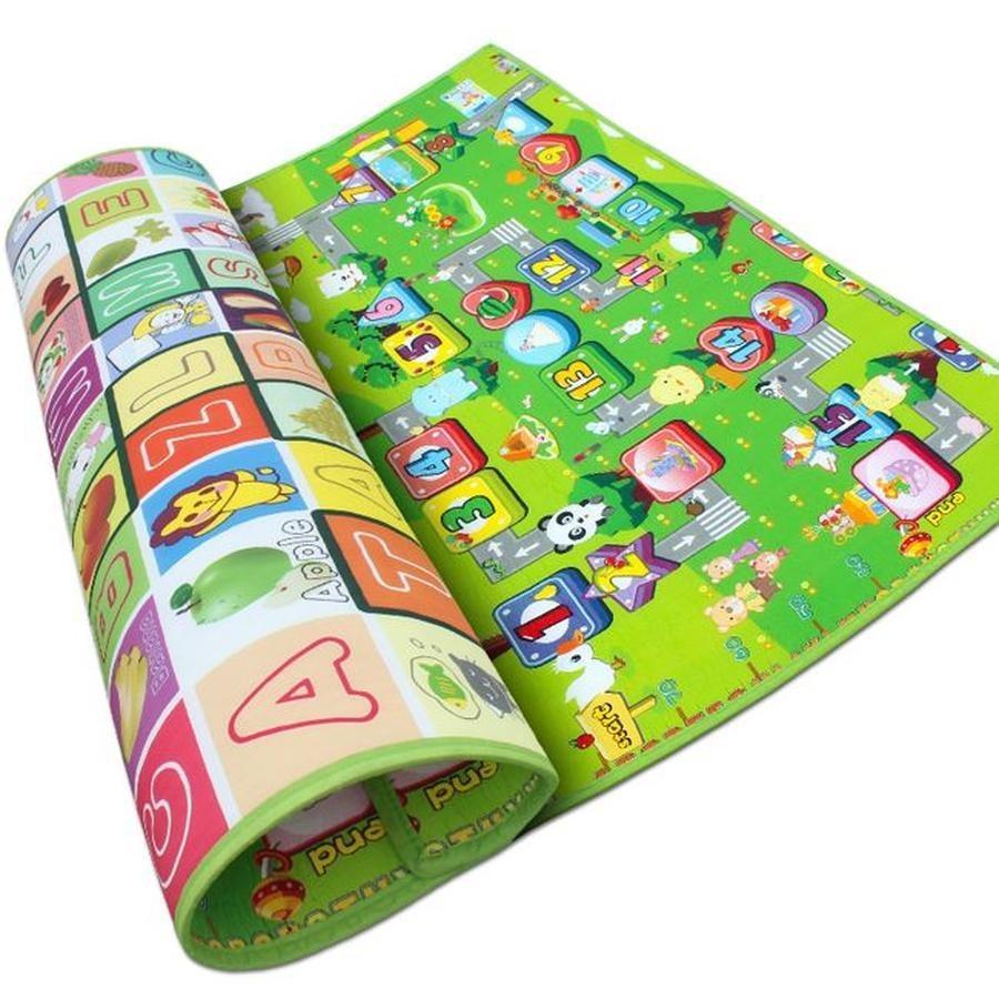 Hình ảnh Thảm chơi 2 mặt cho bé Maboshi 1m8 x 2m