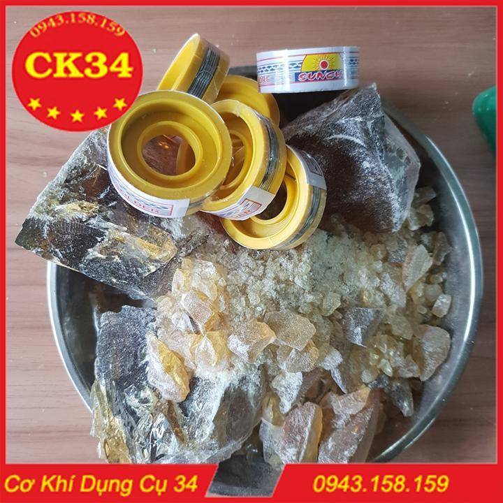 Nhựa thông 1kg (tặng kèm 06 cuộn thiếc) giá không đổi