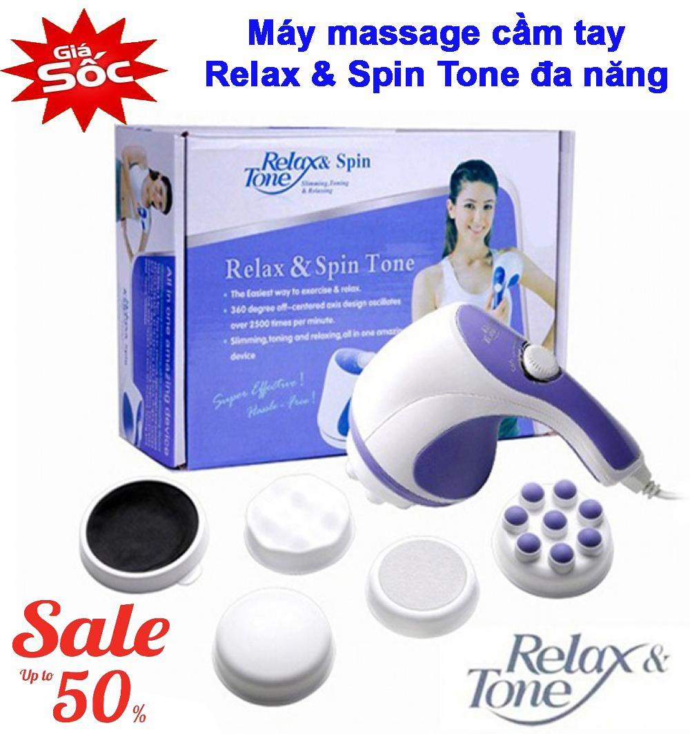 Đánh Tan Mỡ Bụng, Máy Massage Cầm Tay - Dòng Máy Mát Xa Được Ưa Chuộng, Máy Massage Toàn Thân Giá Rẻ, Chất Lượng Cao- BẢO HÀNH 1 ĐỔI 1 chính hãng