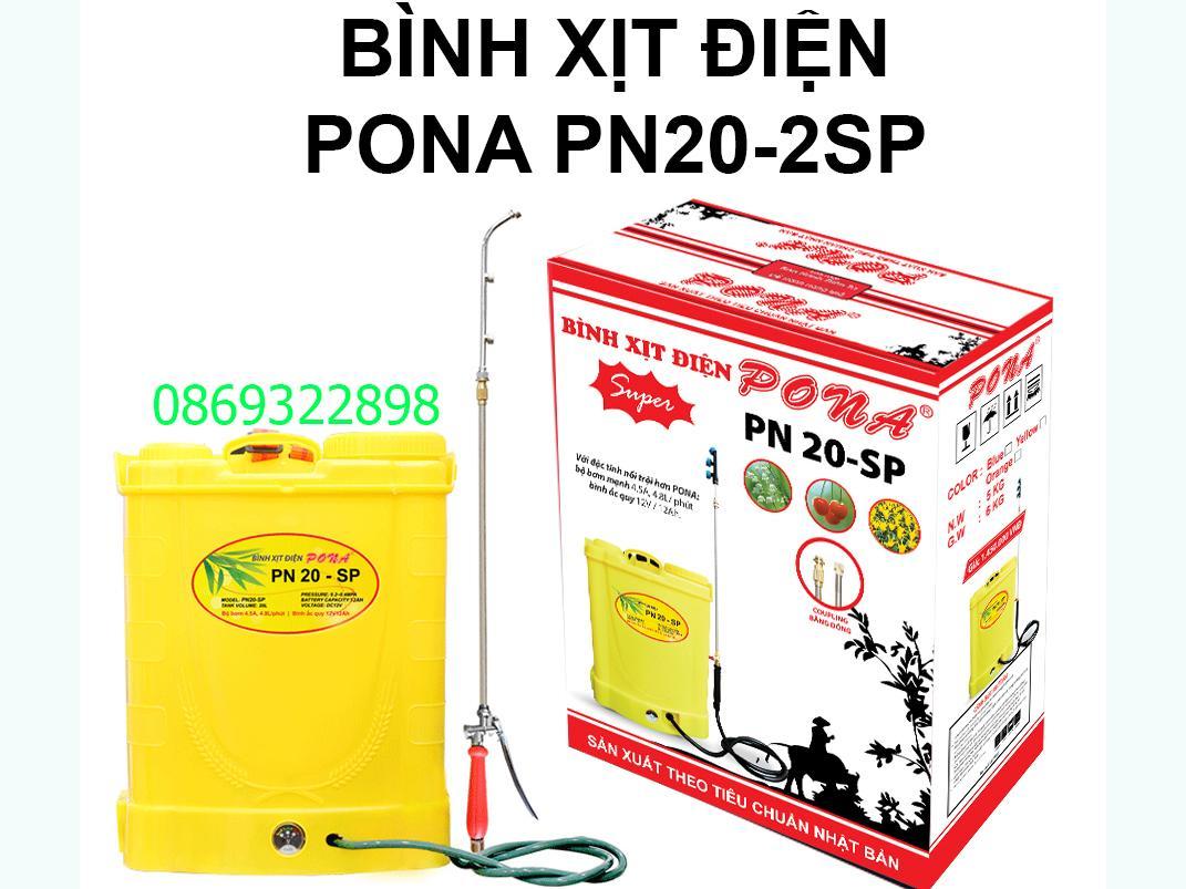 Bình xịt điện Pona PN20-2SP